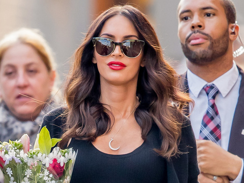 "Megan Fox Says Her ""Super Genius"" Fetus Talks To Her -- What's It Say?!?"