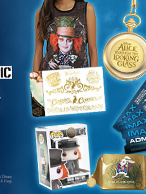 """Win an """"Alice Through the Looking Glass"""" Prize Pack & IMAX Tickets!"""