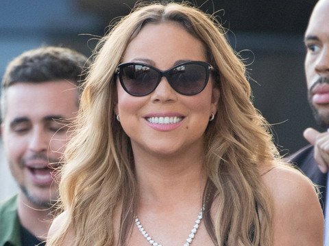 Mariah Carey Rocks Evening Gown ... During the Day!