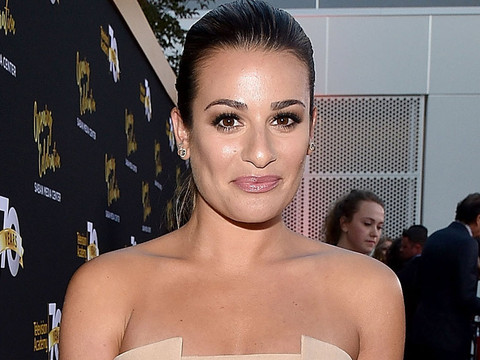 Lea Michele Steals the Spotlight at Television Academy's 70th Anniversary Gala