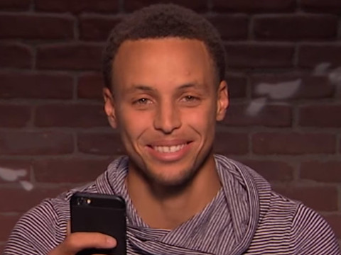 """Steph Curry, Blake Griffin, Shaquille O'Neal and More NBA Stars Read """"Mean Tweets"""""""