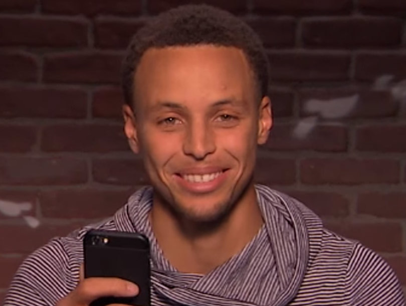 "Steph Curry, Blake Griffin, Shaquille O'Neal and More NBA Stars Read ""Mean…"