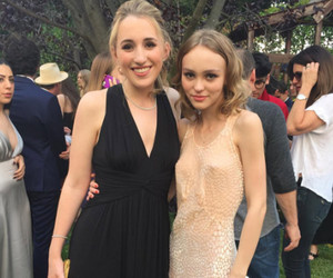 "Lily-Rose Depp and ""Yoga Hosers"" Costar Harley Quinn Smith Go Glam For Prom"