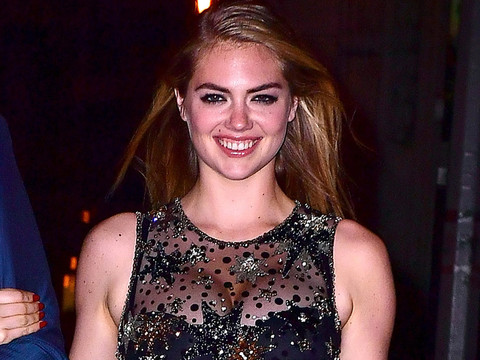 Kate Upton Celebrates 24th Birthday with Fiance -- But Wait Until You See Her Outfit!