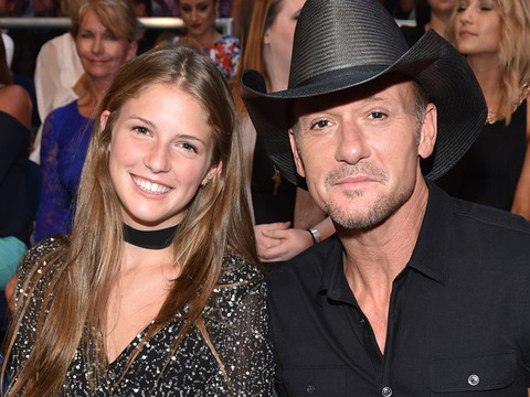 Tim McGraw Brings Gorgeous Daughter Maggie as His Date to the CMT Music Awards