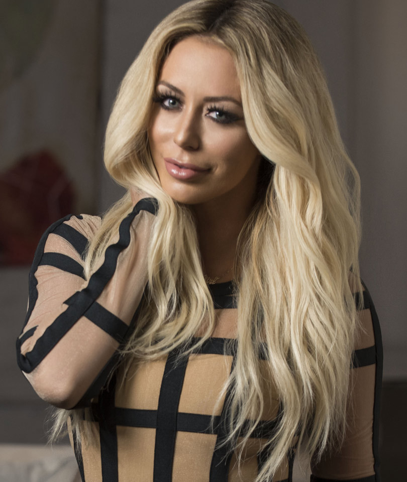 """Aubrey O'Day Teases Fight With Brandi Glanville on """"Famously Single"""": """"I…"""