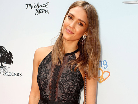 Jessica Alba Rocks Little Black Dress at the 8th Annual Empathy Rocks Event