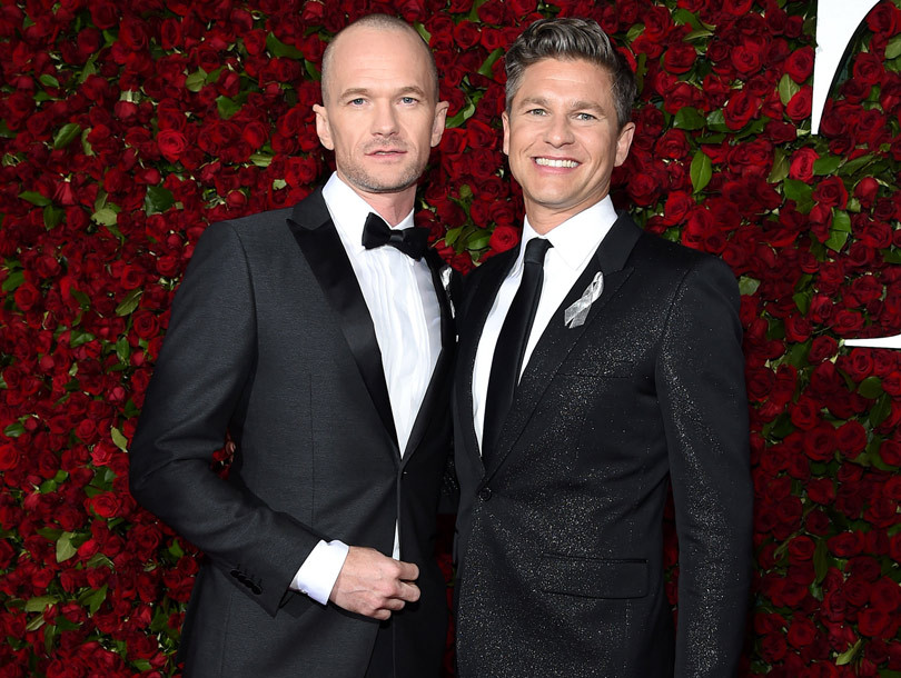 Neil Patrick Harris Shows Off Totally Shaved Head at the 2016 Tony Awards