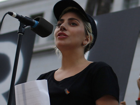 VIDEO: Lady Gaga, Nick Jonas Speak Out at Vigils for Orlando In Los Angeles, New York