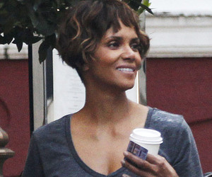 Halle Berry Debuts Partially Shaved New 'Do, Shows Off Flower Undercut!