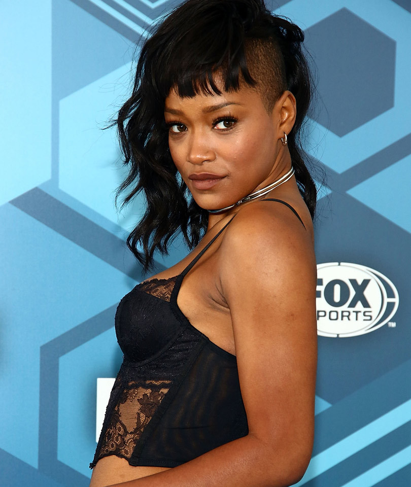 """Keke Palmer Debuts Giant """"Queen of Kush"""" Tattoo on Her Neck -- But Why?!?"""