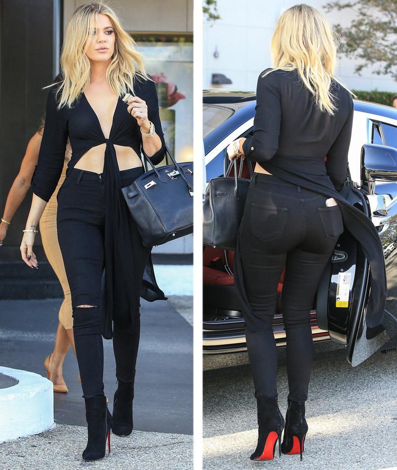 Khloe kardashian looks skinner than ever as she goes for How to dress like khloe kardashian