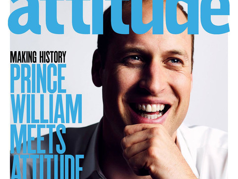 Prince William Becomes First Member of the Royal Family to Pose for Gay Magazine Cover