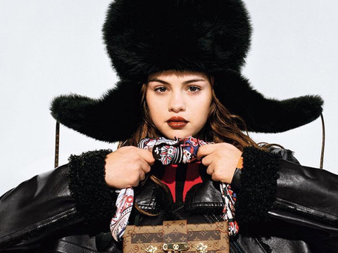 Selena Gomez Looks Fierce In First Ad as the Face of Louis Vuitton