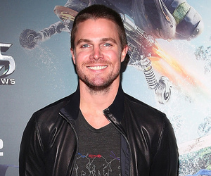 Stephen Amell Tosses Daughter Mavi High In The Sky in Super Cute New Photo!