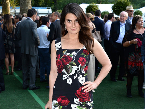 Idina Menzel's Floral Frock -- Fab or Drab?