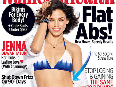 Hot Mama! Jenna Dewan Tatum Flaunts Her Amazing Abs in Women's Health