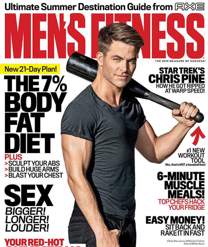 HOT! Chris Pine's Bulging Biceps Steal the Spotlight
