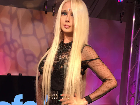 Human Barbie Answers Fan Qs on Plastic Surgery & More!