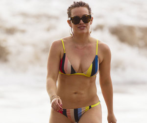 "Hilary Duff Doesn't Care About Having a ""Perfect"" Bikini Bod"