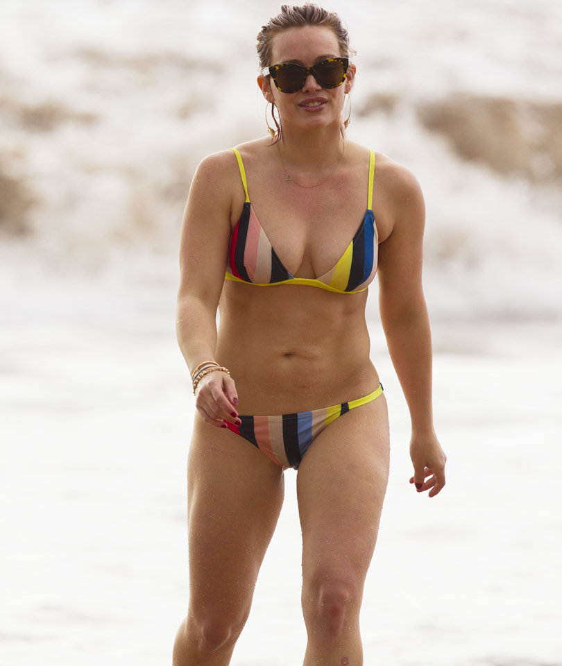 """Hilary Duff Talks Fit Physique, Says She Doesn't Care To Look """"Perfect"""" In A Bikini!"""