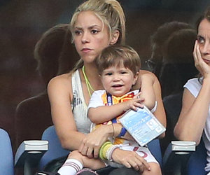 Shakira Brings Her Adorable Boys to Watch Dad Gerard Piqué's Soccer Game
