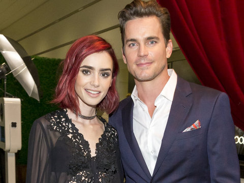 Lily Collins, Matt Bomer & More Stars Attend Sony Pictures Television Social Soiree