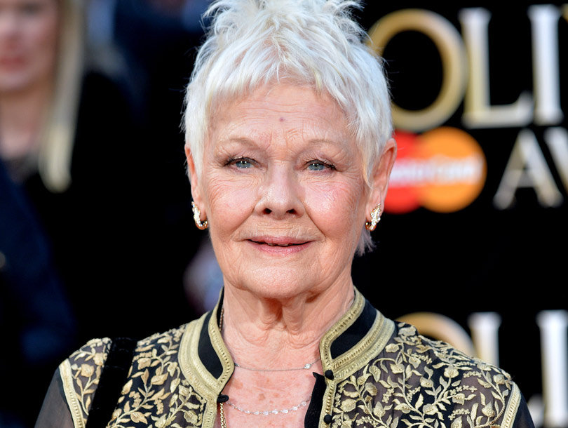Judi Dench Got a Tattoo for Her 81st Birthday -- See Her Ink!