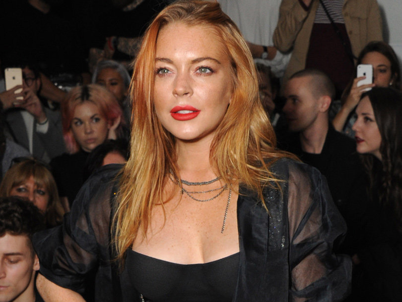 one up person lindsay lohan says not one person stood up for her when ex