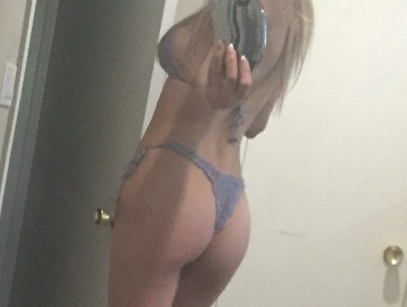 "Brandi Glanville Posts Series of ""Drunken"" Bikini Pics & Videos"