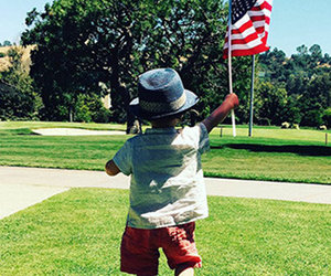 Justin Timberlake Posts Rare Pic of Silas on 4th of July -- See All the Stars…