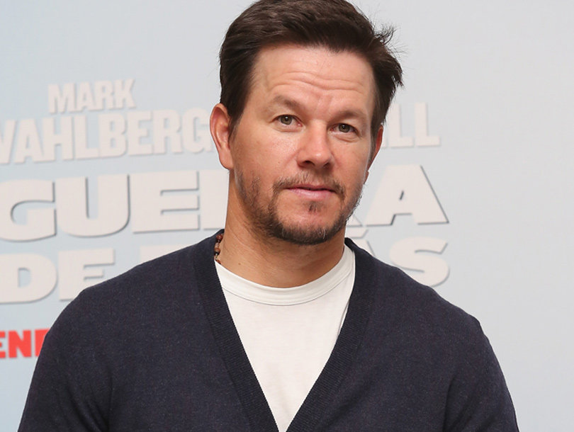 Wahlberg Posts Cute Pool Pic with Wife Rhea & Their Four Kids