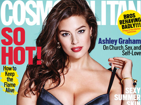 "Ashley Graham Calls Out Amy Schumer Over ""Plus-Size"" Backlash"