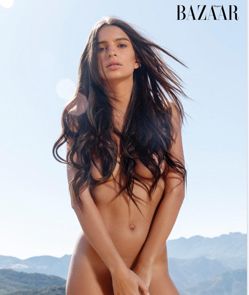Emily Ratajkowski Poses Completely Naked For Harper's Bazaar, Talks Owning Her Sexuality!
