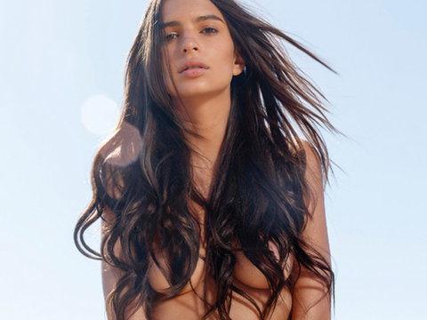 Emily Ratajkowski Poses Completely Naked For Harper's Bazaar, Talks Owning Her Sexuality!
