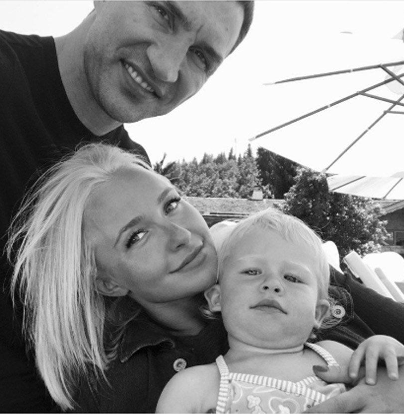 Hayden Panettiere Squashes Split Rumors By Posting Rare ... Hayden Panettiere Kids