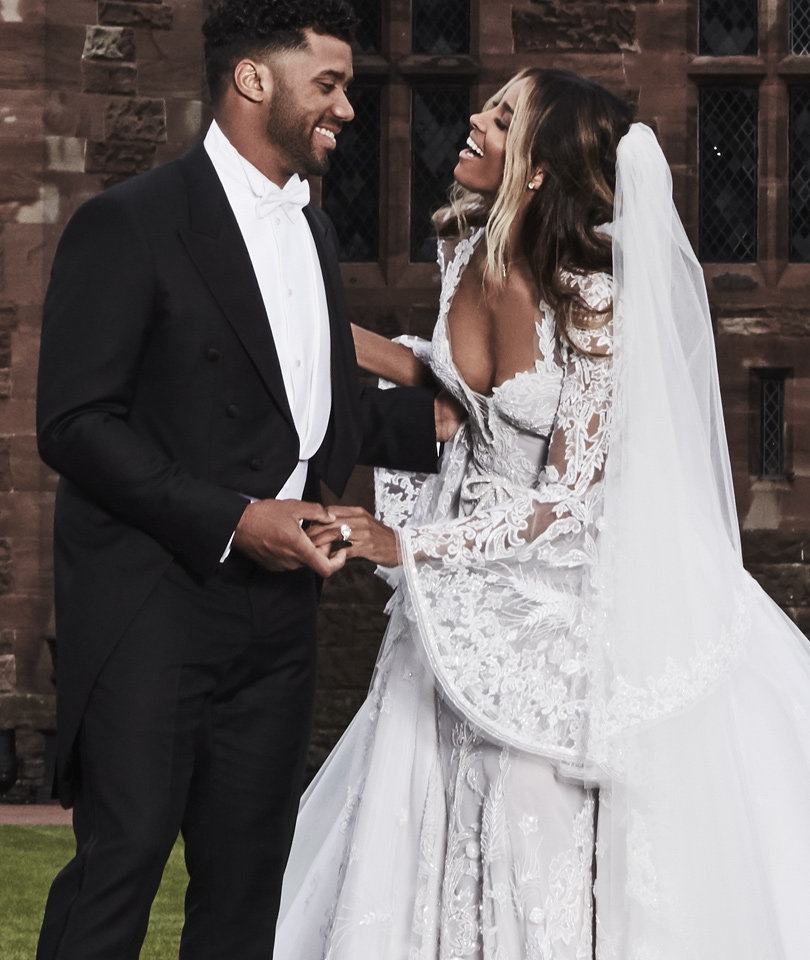 Ciara Releases New, Jaw-Droppingly Gorgeous Wedding Photos
