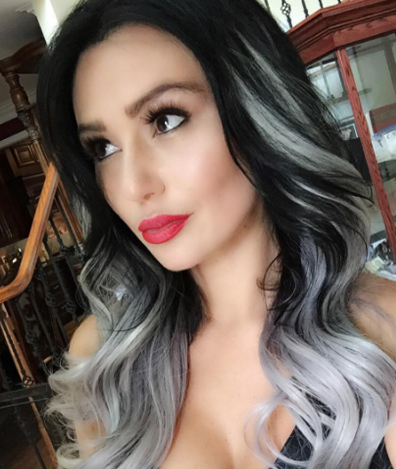 JWoww Debuts New Gray & Black 'Do -- Like The Look?!   toofab.com