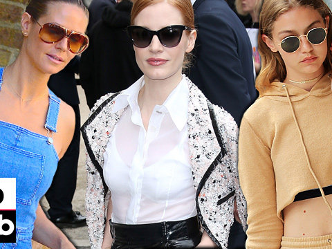 Gigi Goes Nude & Heidi Goes Shirtless -- See This Week's Best & Worst Dressed Stars!