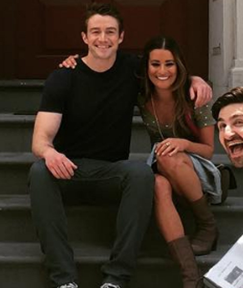 Lea Michele & Robert Buckley Split -- See More Co-Workers Who Couldn't Make…