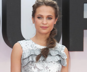 "Vikander's Glittery Gown at ""Bourne"" Premiere -- Fab or Drab?"