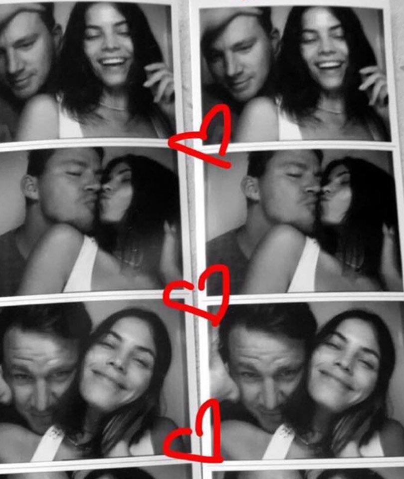 Channing & Jenna Dewan-Tatum Celebrate 7-Year Wedding Anniversary With Sweet Snaps