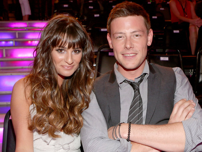 "Lea Michele & ""Glee"" Stars Pay Tribute to Cory Monteith"