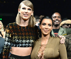 Selena Gomez & More React to the Kim Kardashian & Taylor Swift Feud