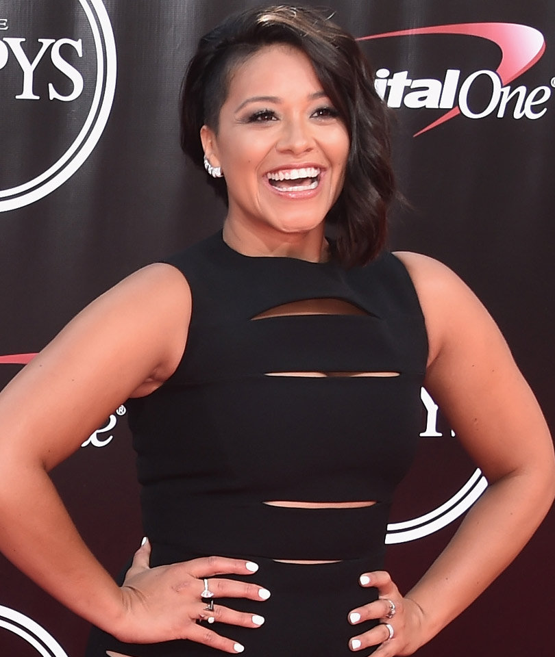 Gina Rodriguez Trades In Her Dark Hair for a Bold Blonde 'Do