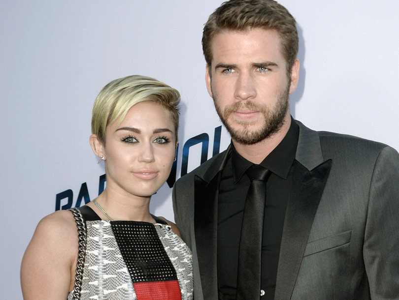 "Miley Cyrus Posts Rare Pic of Liam Hemsworth: ""So Much Love"""