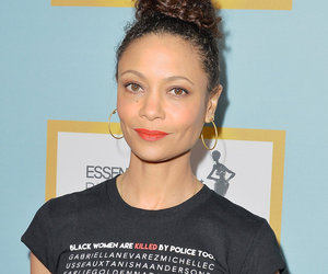 Thandie Newton Shares Breastfeeding Photo With 2-Year-Old Son Booker