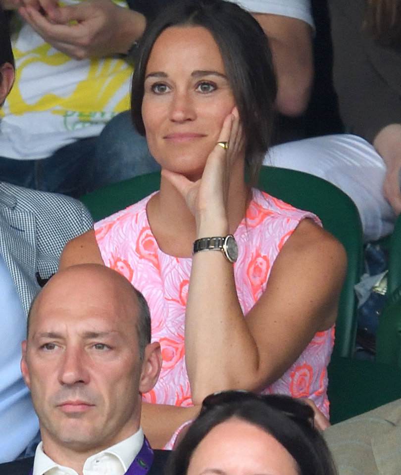 Pippa Engaged to Millionaire -- See GIANT Ring!