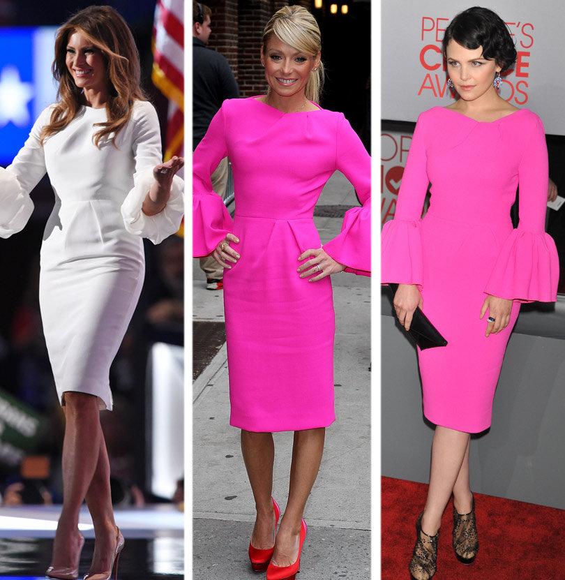 Melania Trump's RNC Dress Was Worn By Ripa & Goodwin ...
