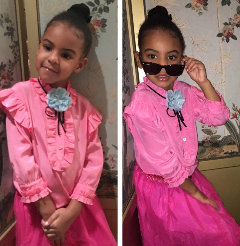 proud aunt solange knowles shares cute pics of blue ivy